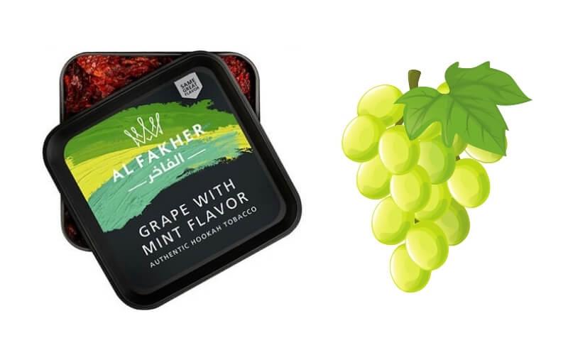 Grape & mint al fakher shisha review