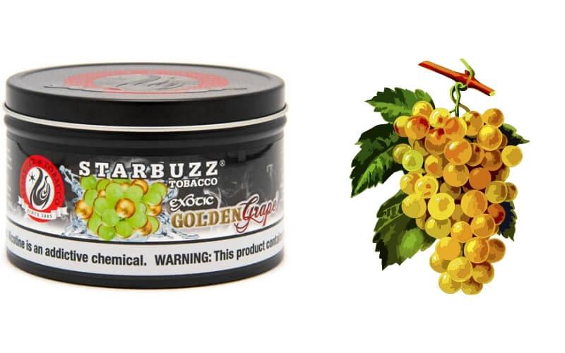 Starbuzz shisha golden grape review