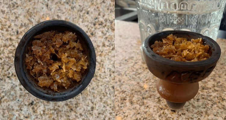 How to pack a hookah bowl