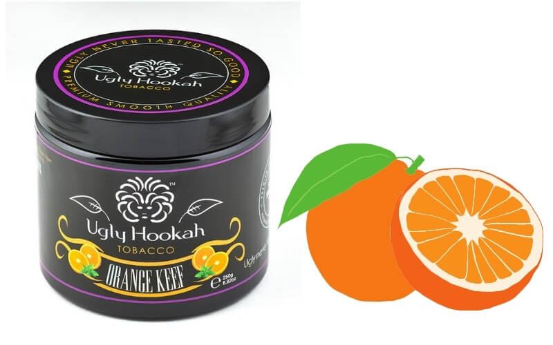 Orange keef shisha review