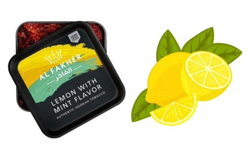 Al Fakher lemon and mint review