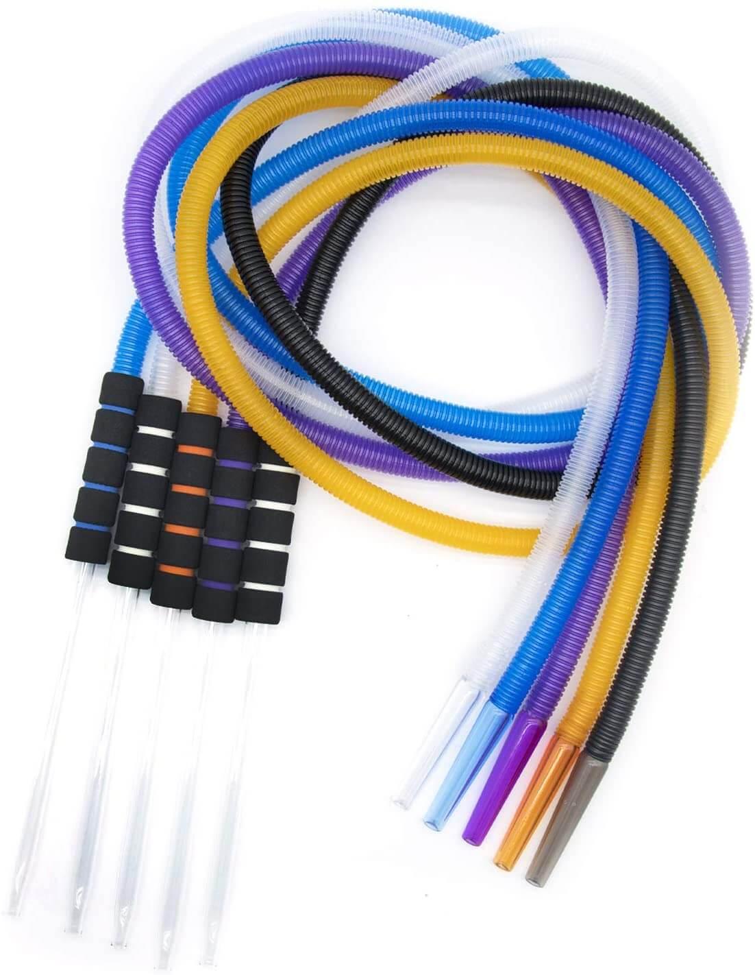 Disposable hookah hoses