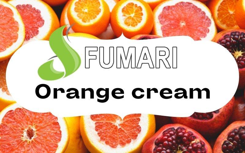 Fumari orange cream hookah flavor review