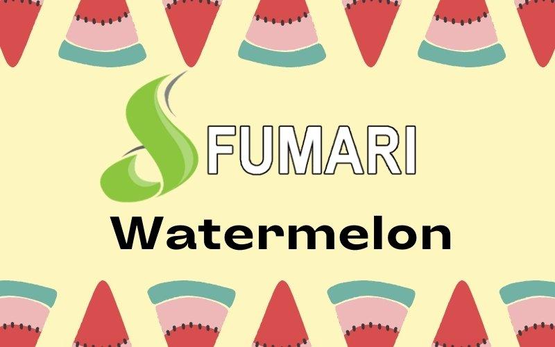 Fumari watermelon shisha review