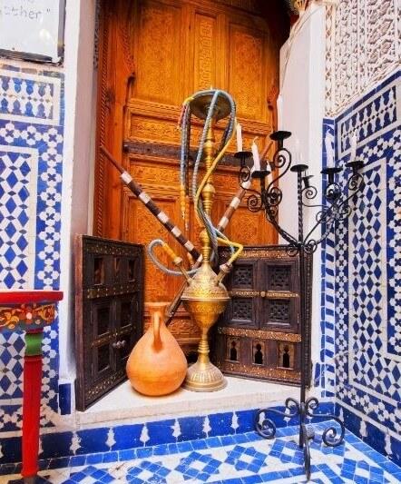 Old hookah Marroco