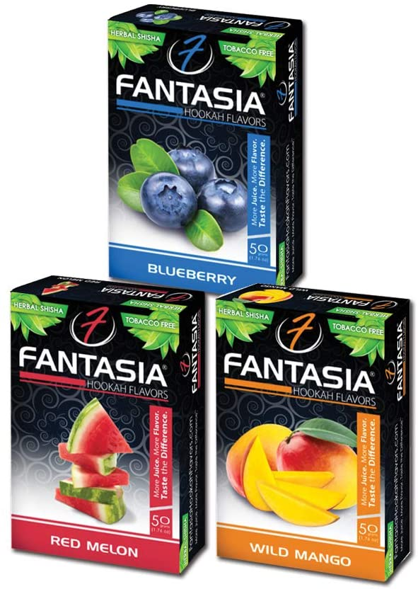 Fantasia packages of shisha