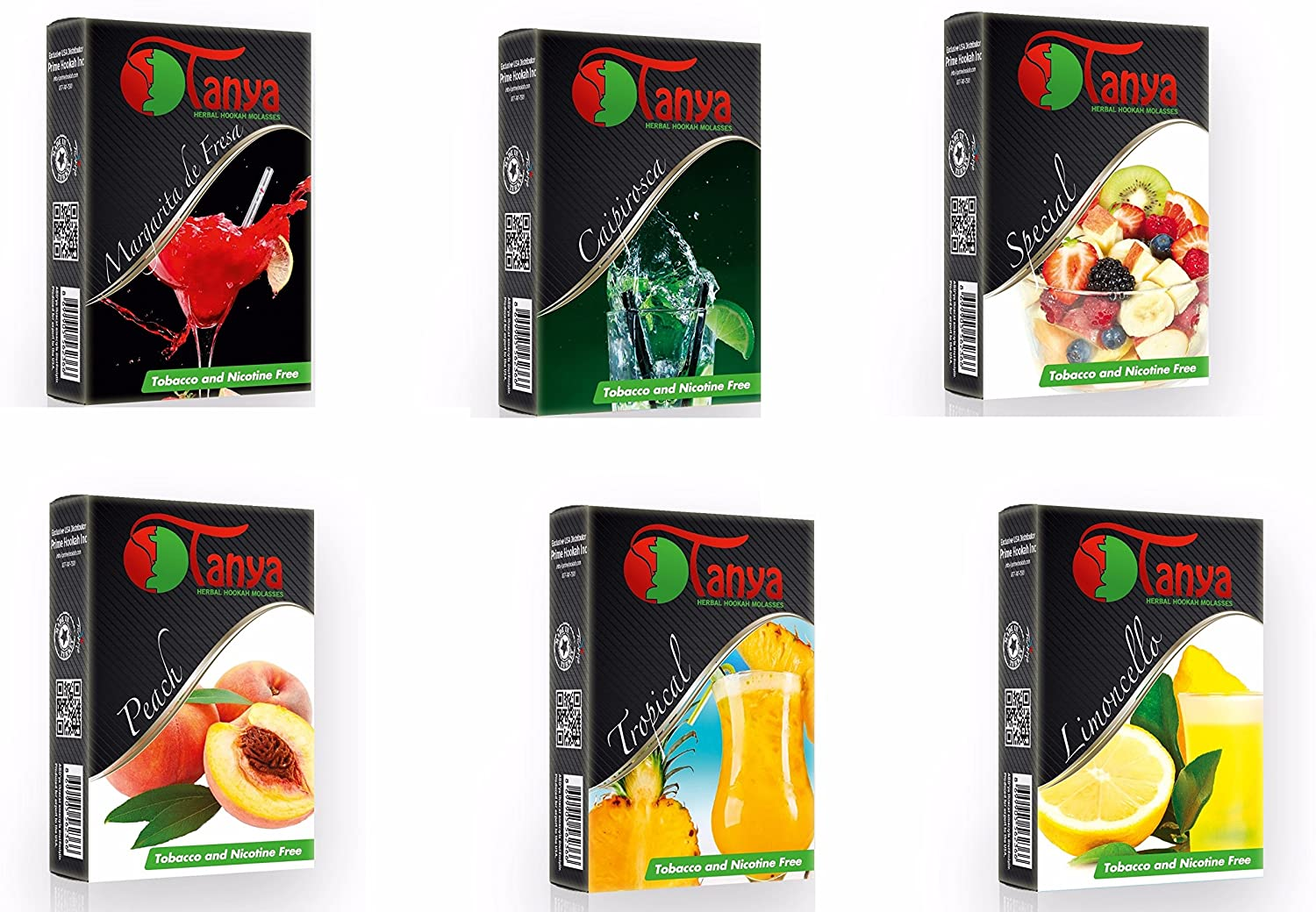 Tanya tobacco free packages